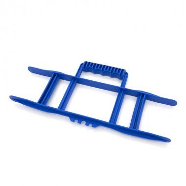 Nawijak ręczny do przedłużacza, kabla, przewodu, przenośny, niebieski CW-BL