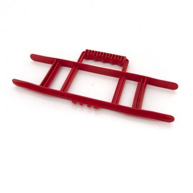 Nawijak ręczny do przedłużacza, kabla, przewodu, przenośny, czerwony CW-R