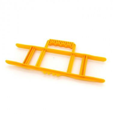 Nawijak ręczny do przedłużacza, kabla, przewodu, przenośny, żółty CW-Y