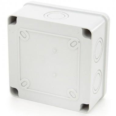 Puszka instalacyjna, hermetyczna, natynkowa ABS 100x100x50 mm, EB10010050